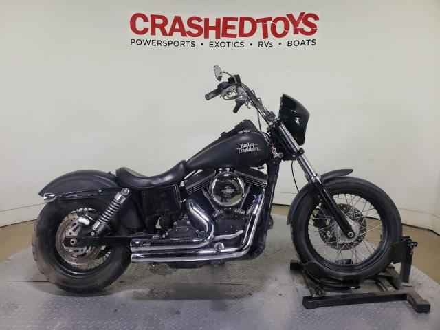 Salvage cars for sale from Copart Dallas, TX: 2015 Harley-Davidson Fxdb Dyna