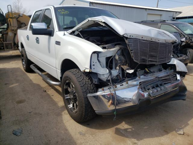 Salvage cars for sale from Copart Pekin, IL: 2005 Ford F150 Super