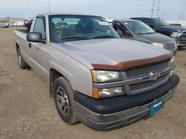 Salvage cars for sale from Copart Hammond, IN: 2005 Chevrolet Silverado