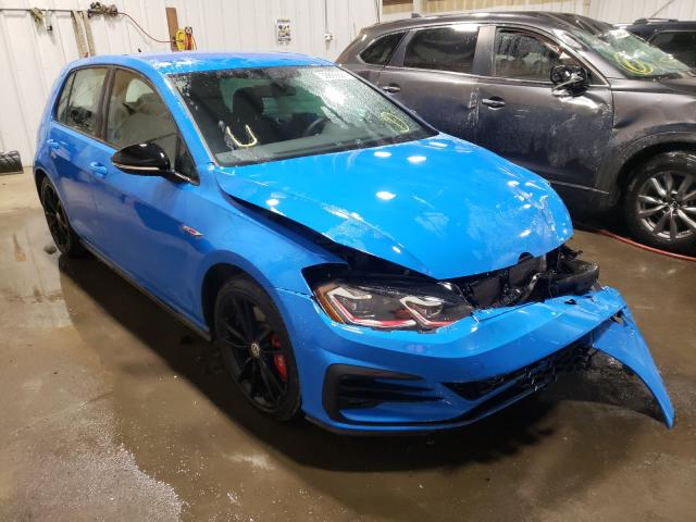 Salvage cars for sale from Copart Anchorage, AK: 2019 Volkswagen GTI