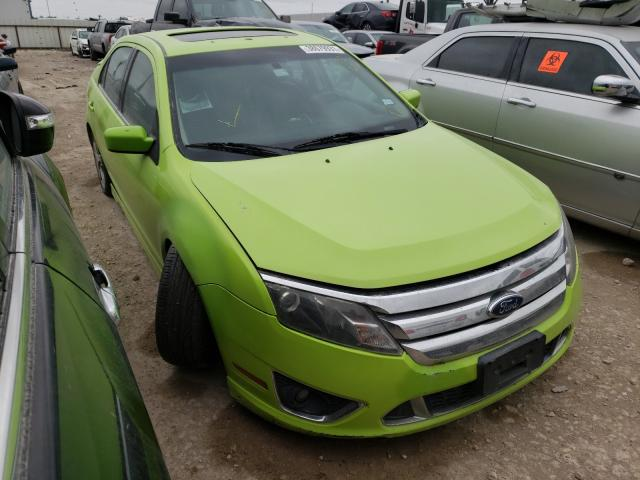 Salvage cars for sale from Copart Temple, TX: 2010 Ford Fusion Sport