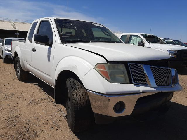 Nissan salvage cars for sale: 2007 Nissan Frontier K
