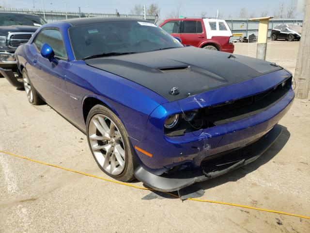 Salvage cars for sale from Copart Pekin, IL: 2020 Dodge Challenger