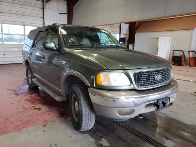 Salvage cars for sale from Copart Angola, NY: 2000 Ford Expedition