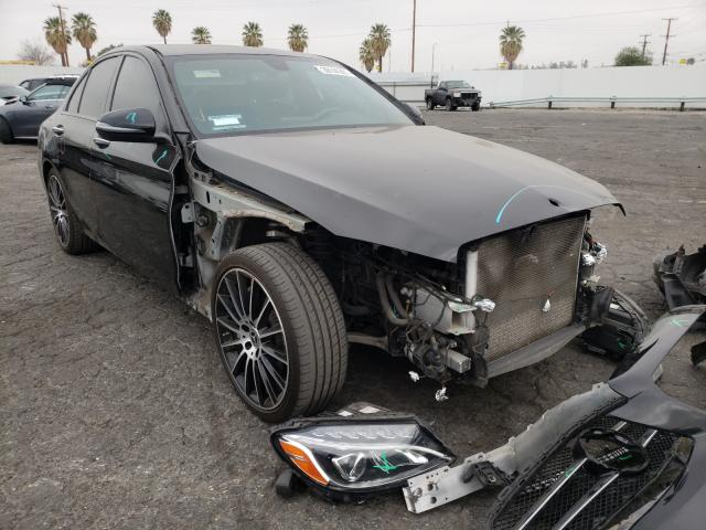 Salvage cars for sale from Copart Adelanto, CA: 2018 Mercedes-Benz C300