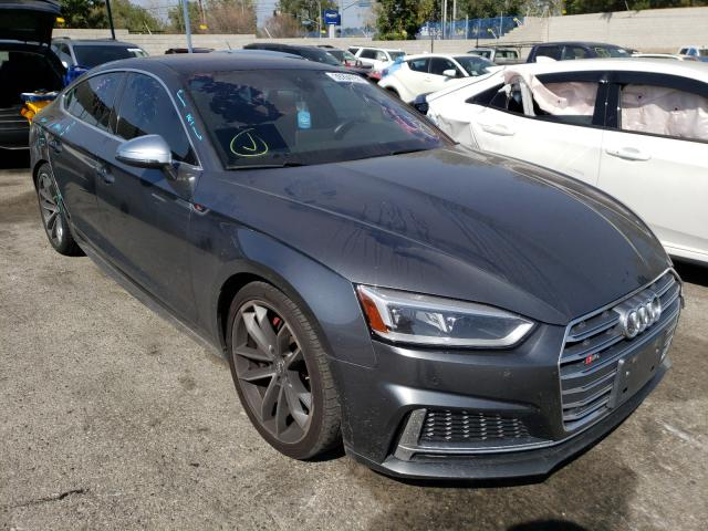 Salvage cars for sale from Copart Colton, CA: 2018 Audi S5 Premium