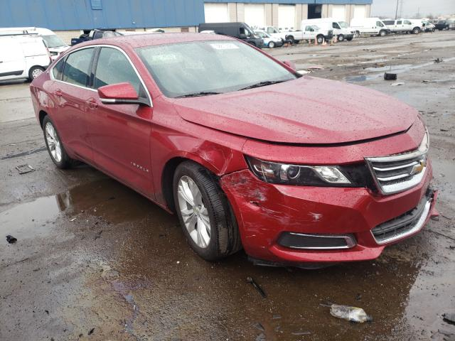 Salvage cars for sale from Copart Woodhaven, MI: 2015 Chevrolet Impala LT