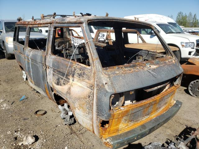 Salvage cars for sale from Copart Eugene, OR: 1981 Volkswagen Kombi Camp