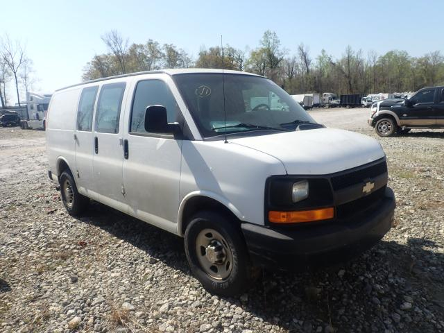 Salvage cars for sale from Copart Spartanburg, SC: 2012 Chevrolet Express G2