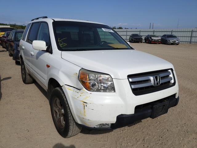 Salvage cars for sale from Copart Anderson, CA: 2006 Honda Pilot EX