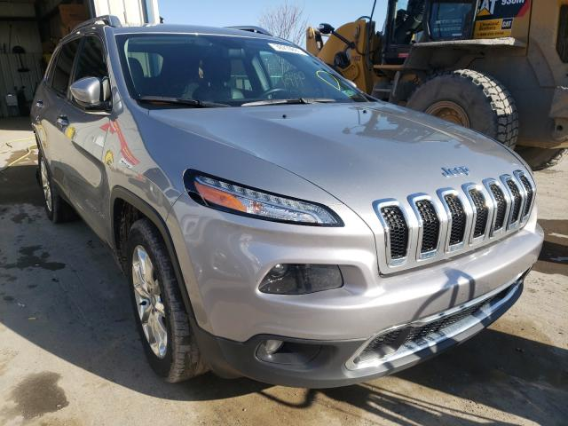 Salvage cars for sale from Copart Duryea, PA: 2016 Jeep Cherokee L