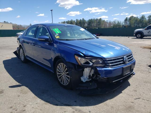 Salvage cars for sale from Copart Exeter, RI: 2017 Volkswagen Passat SE