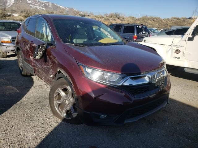 Salvage cars for sale from Copart Reno, NV: 2018 Honda CR-V EXL