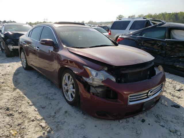 Salvage cars for sale from Copart Loganville, GA: 2013 Nissan Maxima S