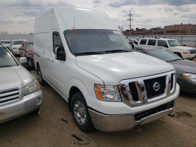Vehiculos salvage en venta de Copart Chicago Heights, IL: 2017 Nissan NV 2500 S