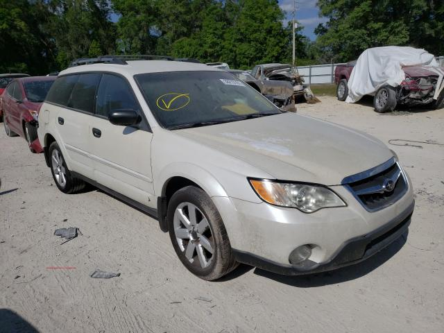 Salvage cars for sale from Copart Ocala, FL: 2008 Subaru Outback 2