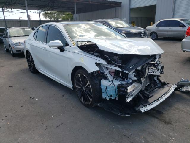 Salvage cars for sale from Copart Orlando, FL: 2020 Toyota Camry XSE