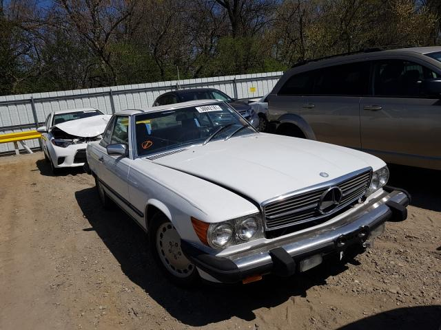 Mercedes-Benz 560 SL salvage cars for sale: 1987 Mercedes-Benz 560 SL
