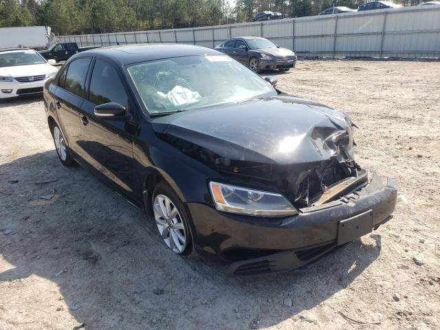 Salvage cars for sale from Copart Charles City, VA: 2011 Volkswagen Jetta SE