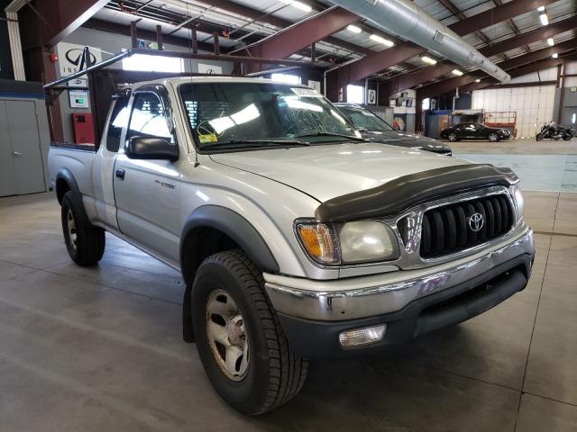 Salvage cars for sale from Copart East Granby, CT: 2003 Toyota Tacoma XTR