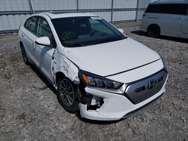 Salvage cars for sale from Copart Bowmanville, ON: 2020 Hyundai Ioniq Ulti