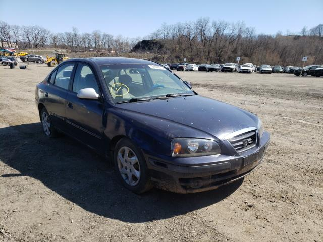Hyundai Elantra salvage cars for sale: 2006 Hyundai Elantra