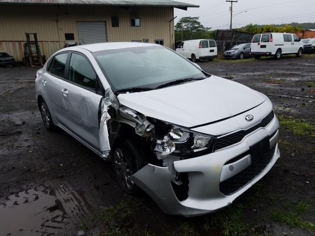 Salvage cars for sale from Copart Kapolei, HI: 2020 KIA Rio LX