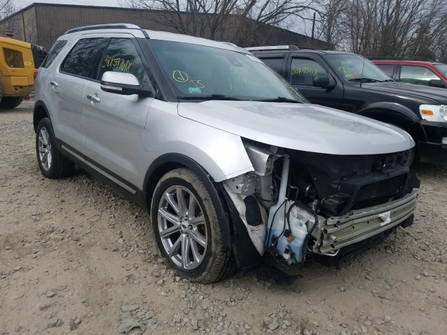 Salvage cars for sale from Copart North Billerica, MA: 2016 Ford Explorer L