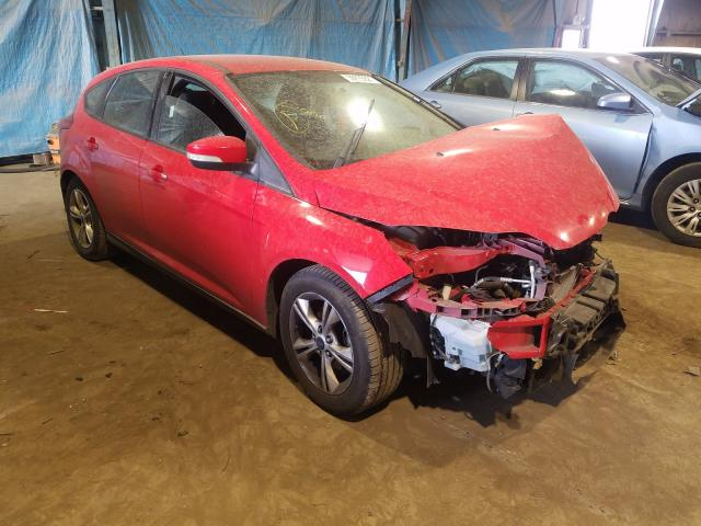 Salvage cars for sale from Copart Hammond, IN: 2014 Ford Focus SE