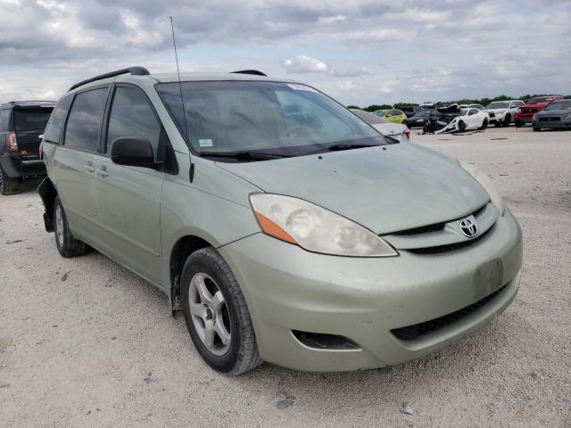 Salvage cars for sale from Copart San Antonio, TX: 2008 Toyota Sienna CE