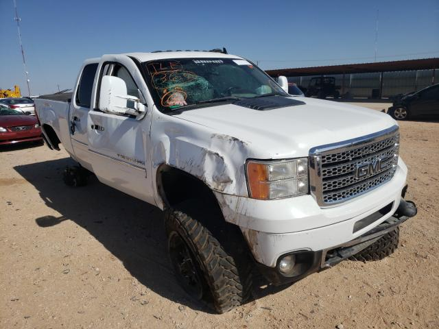 Salvage cars for sale from Copart Andrews, TX: 2013 GMC Sierra K25