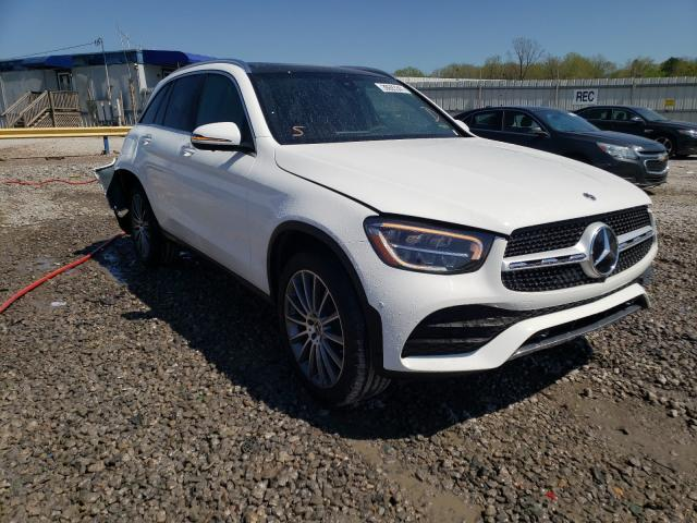 Salvage cars for sale from Copart Hueytown, AL: 2021 Mercedes-Benz GLC 300
