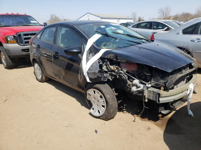 Salvage 2017 FORD FIESTA - Small image. Lot 39383901
