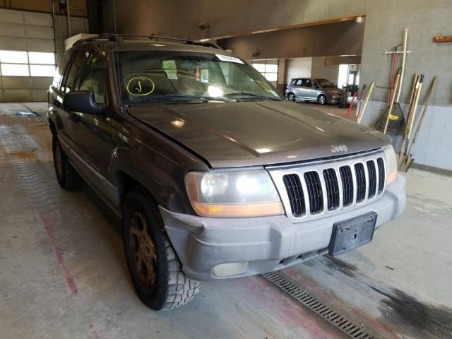 Salvage cars for sale from Copart Sandston, VA: 2000 Jeep Grand Cherokee