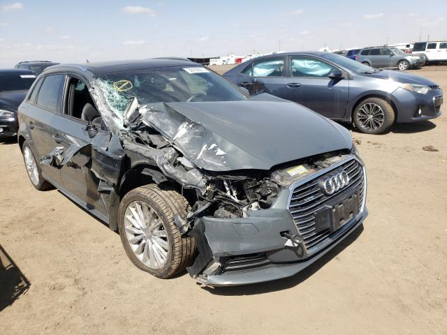 Salvage cars for sale from Copart Brighton, CO: 2017 Audi A3 E-Tron