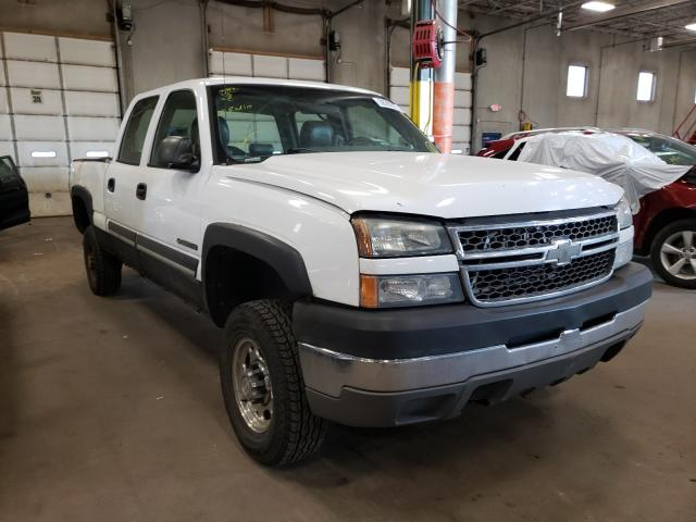 Salvage cars for sale from Copart Blaine, MN: 2005 Chevrolet Silverado