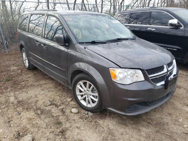 Salvage cars for sale from Copart Madison, WI: 2016 Dodge Grand Caravan
