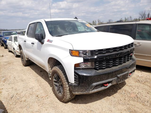 Salvage cars for sale from Copart Bridgeton, MO: 2021 Chevrolet Silverado