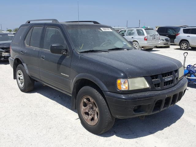 Isuzu Rodeo S salvage cars for sale: 2003 Isuzu Rodeo S