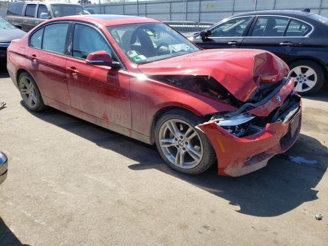 Salvage cars for sale at Brookhaven, NY auction: 2017 BMW 340 XI
