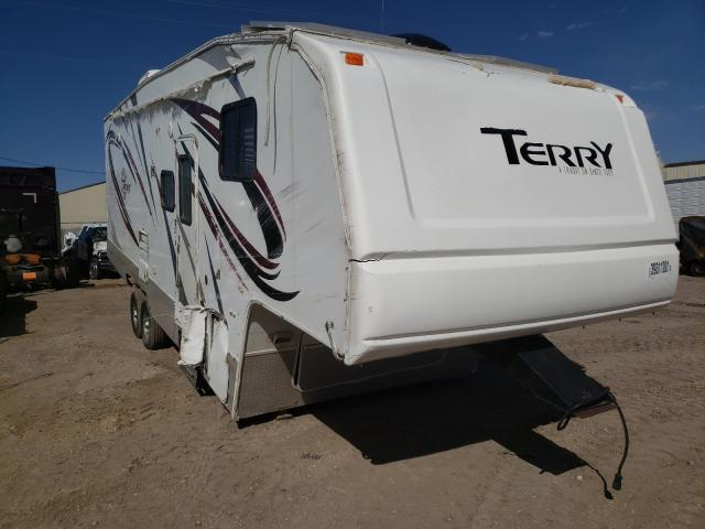 Terry salvage cars for sale: 2003 Terry Camper