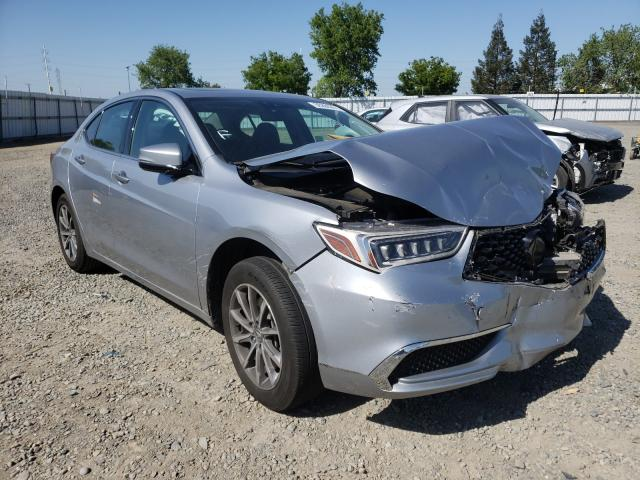 Acura salvage cars for sale: 2018 Acura TLX Tech