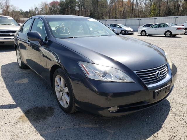 Salvage cars for sale from Copart Fredericksburg, VA: 2007 Lexus ES 350