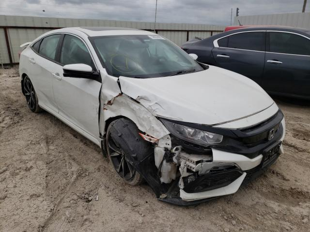 Salvage cars for sale from Copart Temple, TX: 2017 Honda Civic SI
