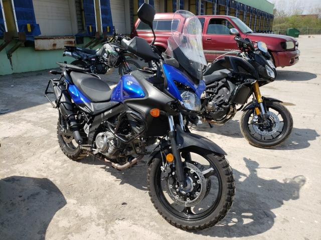 Salvage cars for sale from Copart Columbus, OH: 2013 Suzuki DL650 A