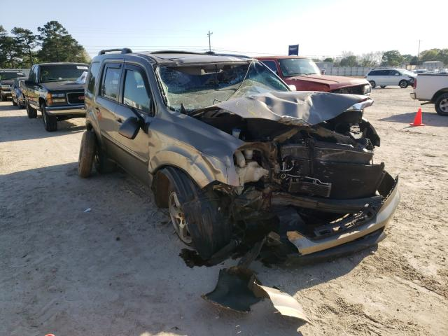 Salvage cars for sale from Copart Newton, AL: 2011 Honda Pilot EXL