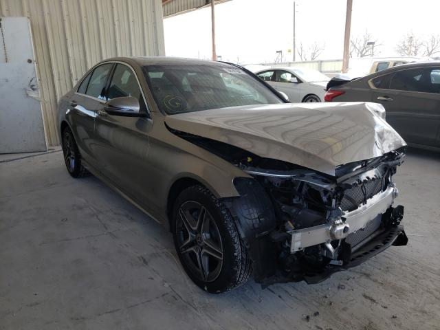 Salvage cars for sale from Copart Homestead, FL: 2021 Mercedes-Benz C300