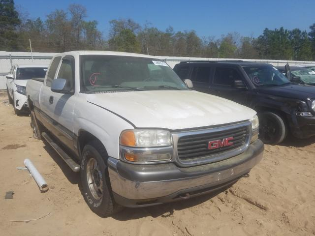 Salvage cars for sale from Copart Gaston, SC: 2000 GMC Sierra 150