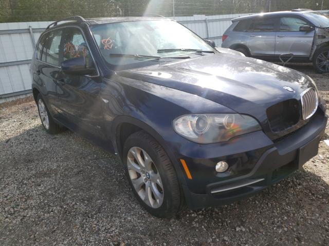 Salvage cars for sale from Copart Lyman, ME: 2007 BMW X5 4.8I
