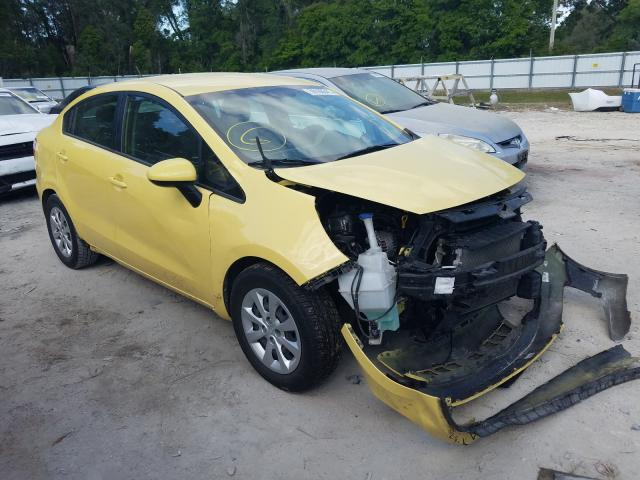 Salvage cars for sale from Copart Ocala, FL: 2016 KIA Rio LX
